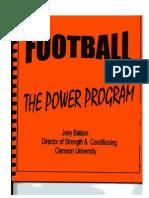 Clemson Power Program