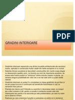 Gradini-interioare