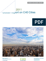 CDP C40 Cities Global Report 2011