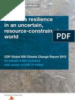 CDP Global 500 2012