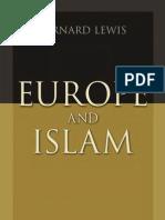 Europe and Islam by Bernard Lewis