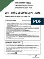 Prova PC Papiloscopista(2008) Funiversa