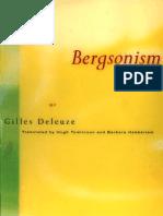 Deleuze, Gilles. Bergsonism