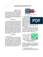 Technical Report - Mine Detection (Fall 2007)