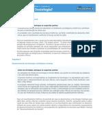 Atividade Compl. 2 SP Sociologia Vol. Unico Unidade 3 Capitulo 12