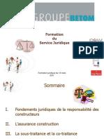 Formation_ la_ responsabilité_ des_ constructeurs