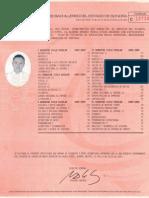 Certificado Preparatoria