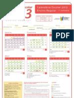 Calendario A4 Regular 2