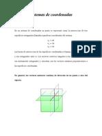 Sistema de Coordenadas Rectangulares, Cilindricas y Esfericas