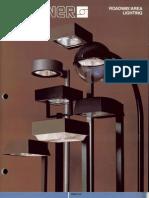 Sterner Lighting Area and Roadway Series Brochure 1987