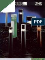 Sterner Lighting Bollards and Pathway Brochure 1982
