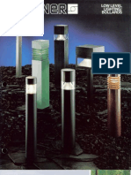 Sterner Lighting Bollards and Pathway Brochure 1987