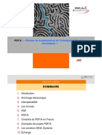 Présentation PDF/A