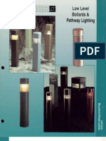 Sterner Lighting Bollards and Pathway Brochure 1995
