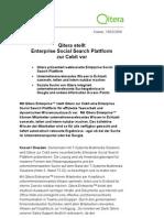 Pressemitteilung_Qitera und T-Systems Auf Cebit_190209