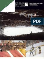 Sterner Lighting - Custom Lighting Hartford Coliseum Project Flyer 1982