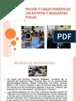 Definición y características de los nativos y migrantes digitales