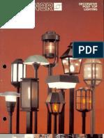 Sterner Lighting Decorative Post Tops Brochure 1982