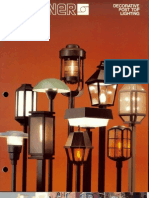 Sterner Lighting Decorative Post Tops Brochure 1986
