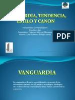 Vanguardia, Tendencia, Estilo, Canon