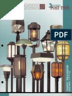 Sterner Lighting Decorative Post Tops Brochure 1993