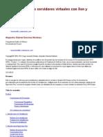 Administracion de Servidores Virtuales Con Xen y GNU Linux