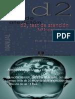 d2, test de atención