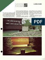 Sterner Lighting Lans-Cube Brochure 1987