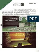 Sterner Lighting Lans-Cube Brochure 1989