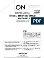 Denon+RCD M33+RCD M35+DAB++Service+Manual[1]