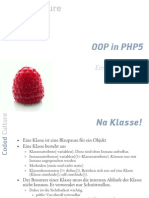 OOP in PHP5