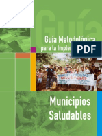 Guia Metodologica Para Implementar Municipios Saludables