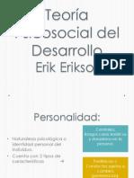 Teoría Psicosocial del Desarrollo
