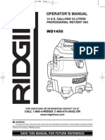 Ridgid Wd1450 14g Man