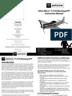 Ultra Micro P-51 Manual