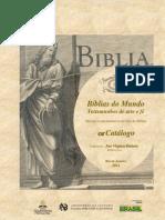 Biblias Do Mundo Catalogo Biblioteca Nacional