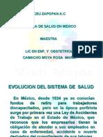 Sistemas de Salud en Mexico Para Fray