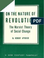 Aptheker on the Nature of Revolution