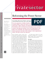 Reforming the Power Sector