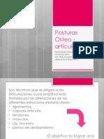 Posturas Osteoarticulares (1)
