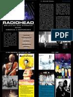 Diptico InDesign - Radiohead (IMD 2013 00)