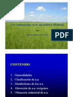 Aminoacidos en Las Plantas-cultivar y Proteger