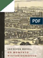 Un Momento Historiográfico - Jacques Revel