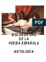 Antologia Poemas Siglos Oro