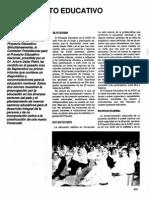 Proyecto Educativo en La Avec