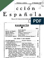 Acción española (Madrid). 15-12-1931, n.º 1