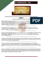 43- Puntos Sobresalientes de La Biblia Juan 1 a 21 - (Bible Highlights John)