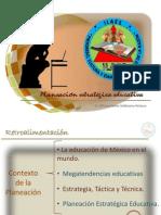 Sesion 3- Planeacion Educativa- Maestria en Educacion III