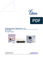 GXV3000 Series User Manual