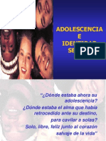 Adolescencia e Identidad Sexual